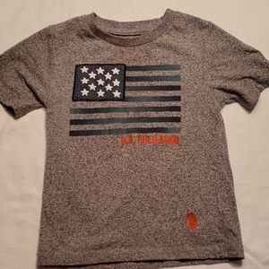 US Polo Assn gray T-shirt  size 2T